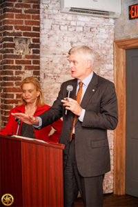 Rep. Carolyn Maloney (D-NY) and Sen. Bill Cassidy (R-LA).